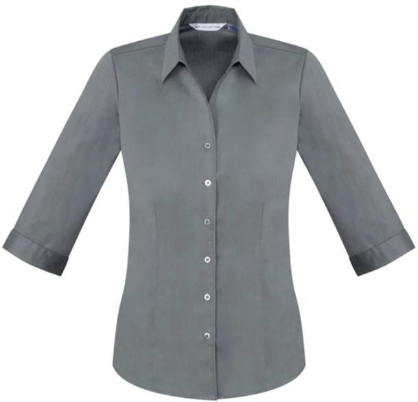Biz Care Ladies Monaco 3/4 Sleeve Shirt - Ace Workwear (4293901090950)