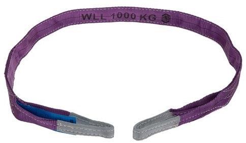 LINQ Sling Flat 8:1 WLL Polyester 1 Tonne - Ace Workwear (4413512548486)