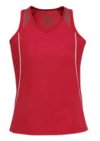 Biz Ladies Razor Singlet - Ace Workwear