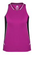 Biz Ladies Renegade Singlet - Ace Workwear