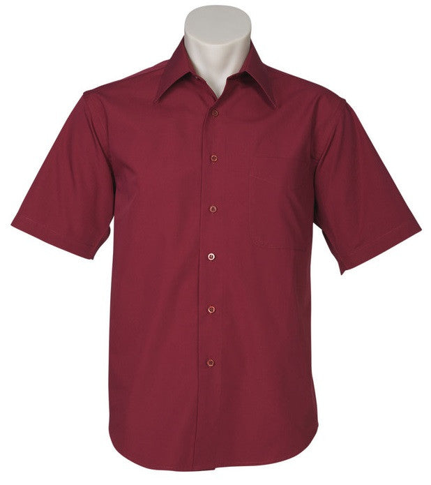 Biz Collection Metro Mens Short Sleeve Shirt (SH715) - Ace Workwear
