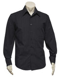 Mens Manhattan Long Sleeve Shirt (SH840) - Ace Workwear