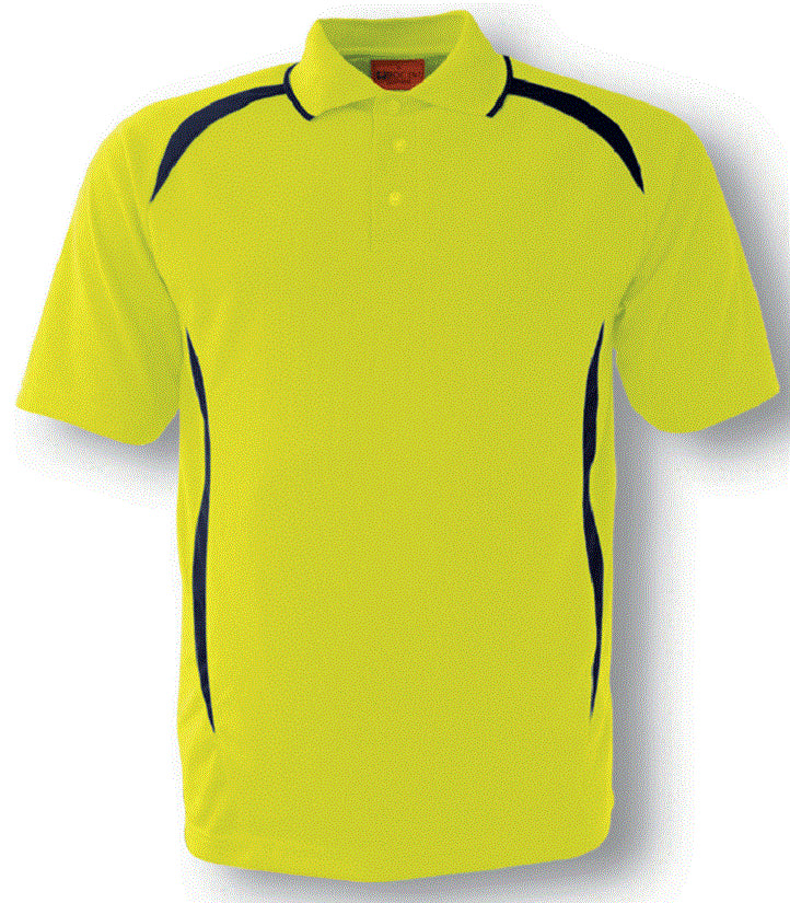 Hi Vis Safety Style Polo Short Sleeve (SP0752) - Ace Workwear