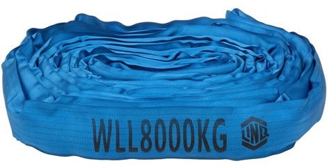 LINQ Sling Round 7:1 WLL Polyester 8 Tonne - Ace Workwear (4413772988550)
