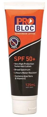 Pro Choice  Probloc 50+ Sunscreen 125mL (SS125-50)