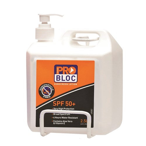Pro Choice Pro Choice Safety Gear Sunscreen Wall Bracket 2.5 Litre (SSB25) - Ace Workwear (4425243426950)