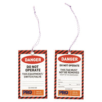 Safety Tag - 125mm x 75mm Danger - Ace Workwear
