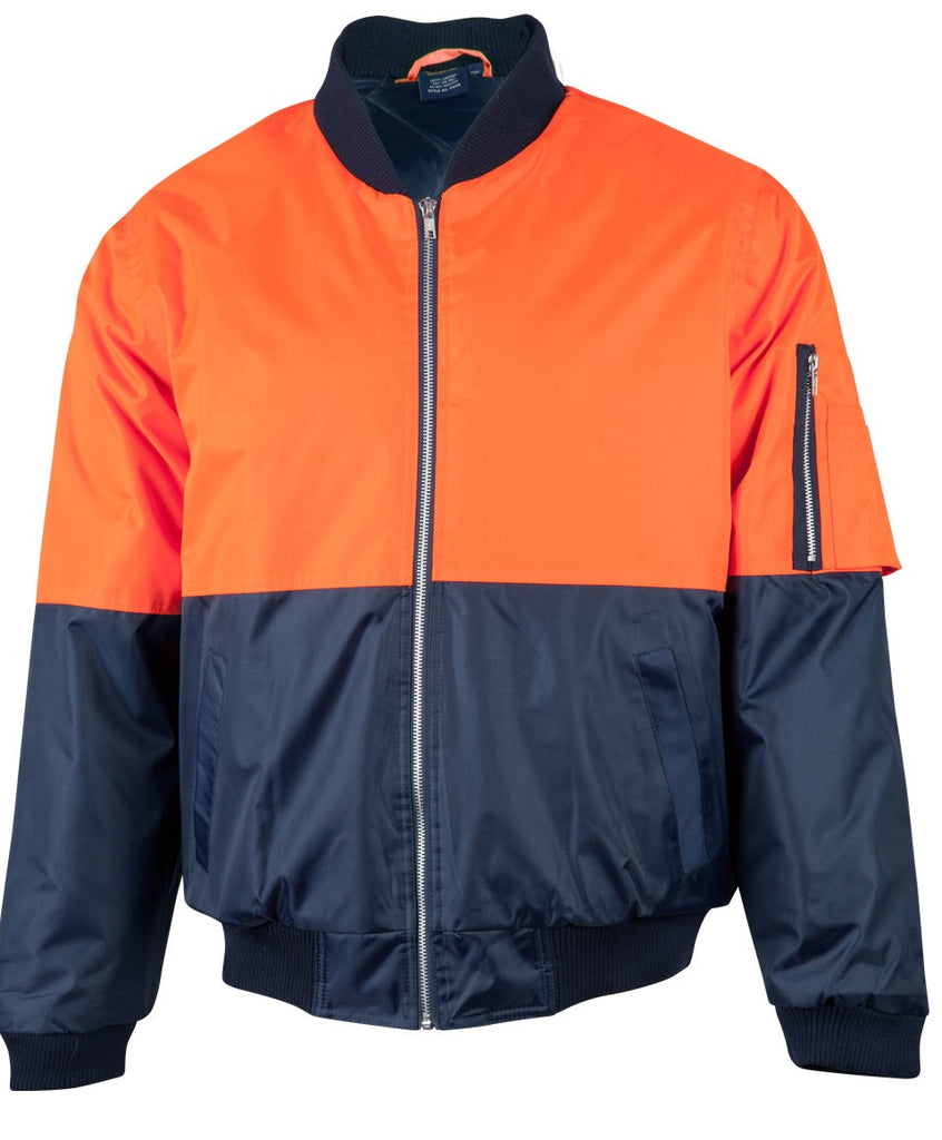 Winning Spirit Hi-Vis Two Tone Flying Jacket (SW06A) - Ace Workwear