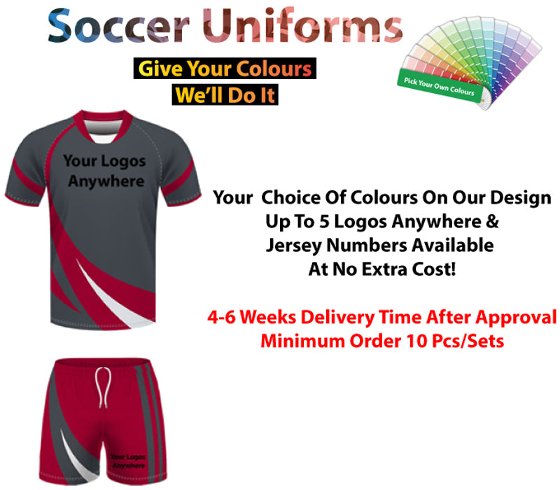 The Swansea Soccer Uniform Set
