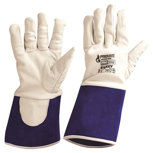 Pro Choice Pyromate® Big Kev Welding Glove - Pack (12 Pairs) (TIGWKEV) - Ace Workwear (4423541457030)