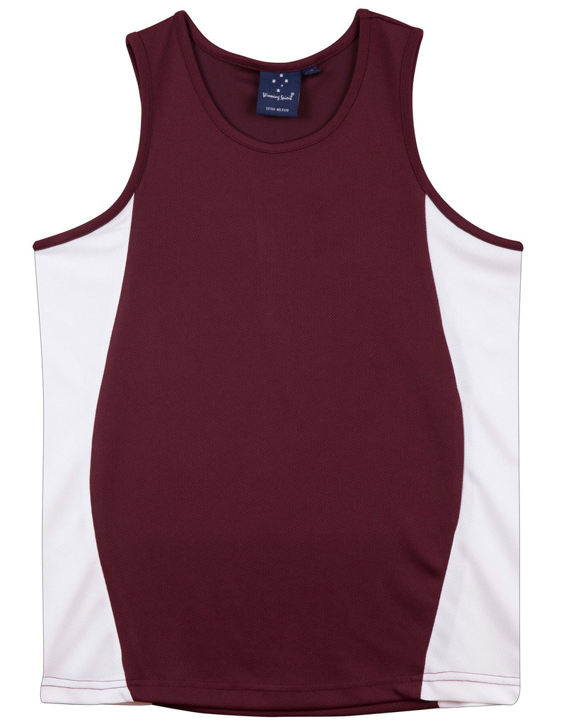 Winning Spirit Teammate Singlet Ladies' - Ace Workwear