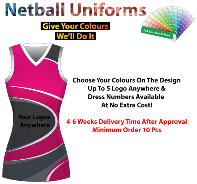 The Force Netball Dress - Ace Workwear