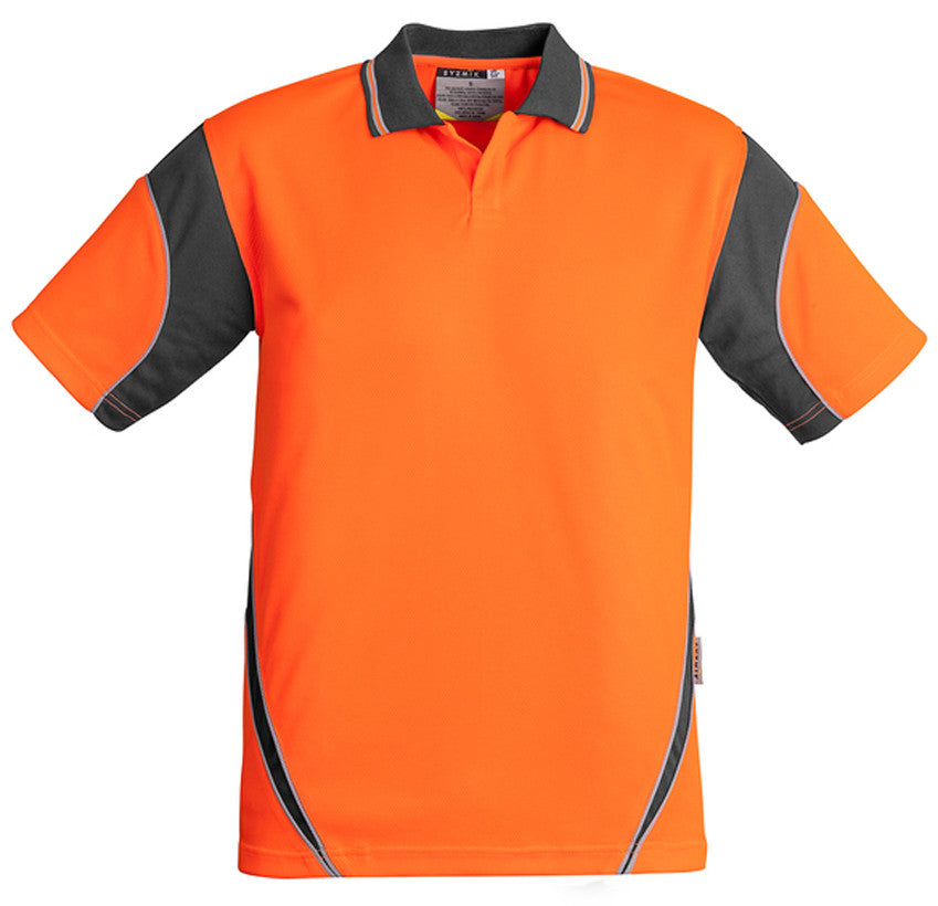 Hi Vis Mens Aztec Polo Short Sleeve (ZH248) - Ace Workwear