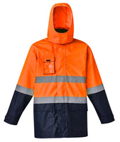 Syzmik Mens Hi Vis Basic 4 in 1 Waterproof Jacket - Ace Workwear