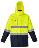 Syzmik Mens Hi Vis Basic 4 in 1 Waterproof Jacket (ZJ220) - Ace Workwear (4290233565318)