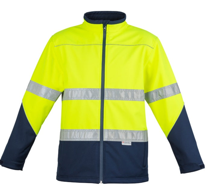 Syzmik Unisex Hi Vis Soft Shell Jacket (ZJ353) - Ace Workwear
