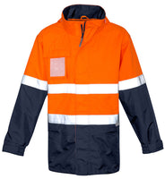Hi Vis Mens Ultralite Waterproof Jacket (ZJ357) - Ace Workwear