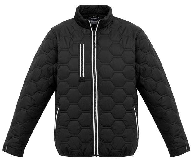 Syzmik Unisex Hexagonal Puffer Jacket (ZJ420) - Ace Workwear
