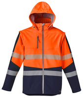 Syzmik Unisex 2 in 1 Stretch Softshell Taped Jacket - Ace Workwear