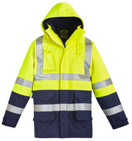Syzmik Hi Vis Mens FR Arc Rated Anti Static Waterproof Jacket