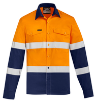 Mens Hi Vis Lightweight Bio Motion Shirt (ZW520) - Ace Workwear