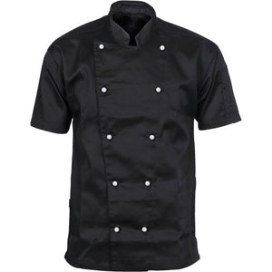 DNC's Unisex Traditional Chef Short Sleeve Jacket - Ace Workwear