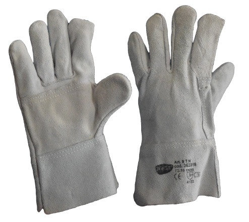Chrome Leather Gloves - Pack (12 Pairs) - Ace Workwear