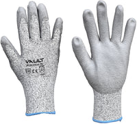 Cut Resistant Level 5 PU Coated Palm Gloves - Pack (12 Pairs) - Ace Workwear