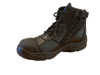 Cyclone Side Zipper With Bump Cap Vault Safety Boot - Ace Workwear