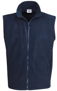 Polar Fleece Vest - Ace Workwear