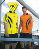 Visitec Hi Vis Charger AIRWEAR Polo Shirt Short Sleeve (CVPAS) - Ace Workwear