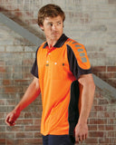 Hi Vis Chief Polo Microfibre Short Sleeve (V1000) - Ace Workwear
