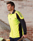 Hi Vis Chief Microfibre Polo Long Sleeve (V2000) - Ace Workwear