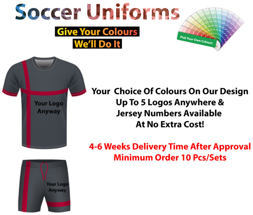 The Arsenal Soccer Uniform Set