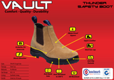 Thunder Vault Safety Steel Cap Boot - Ace Workwear