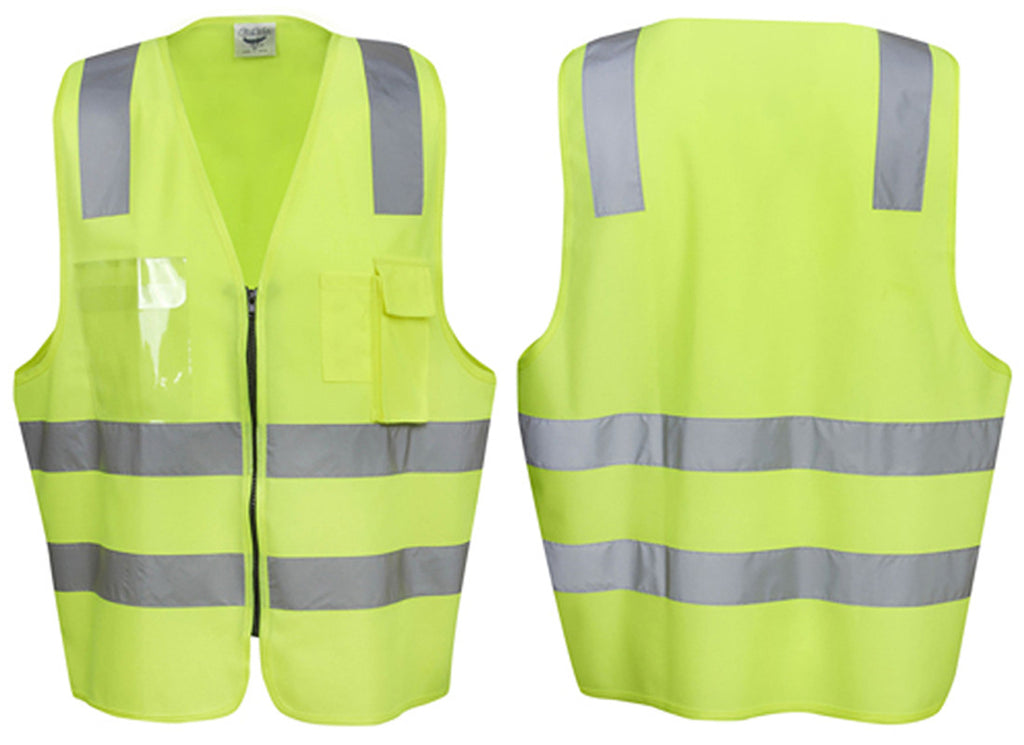Hi Vis Executive Day Night Safety Vest - Ace Workwear