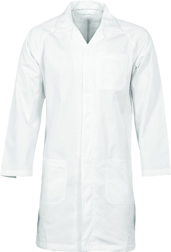 DNC Polyester Cotton Dust Coat (Lab Coat) (3502) - Ace Workwear (8444585741)