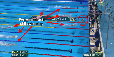 Katie Ledecky distance swimming - Tiide swim