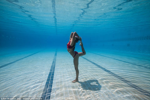 Yoga Underwater Tiide Swim