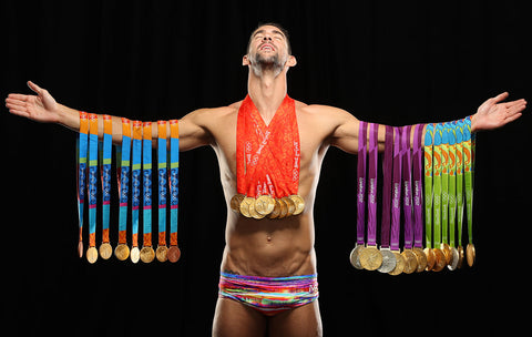 Michael Phelps GOAT - Tiide Swim