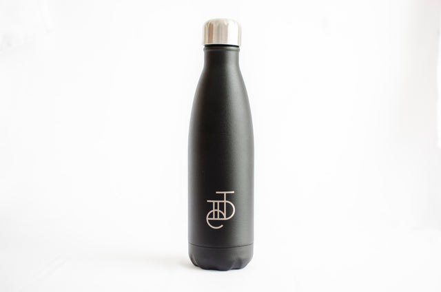 Tiide X Chilly's Bottle Matte Black 500ml