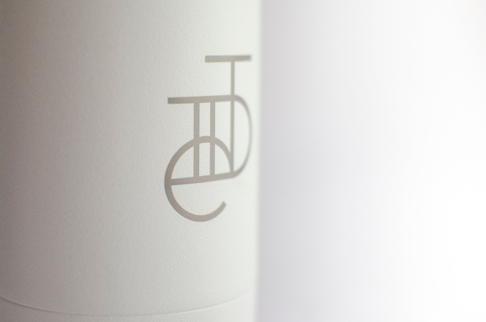 Tiide X Chilly's Bottle Matte White 500ml