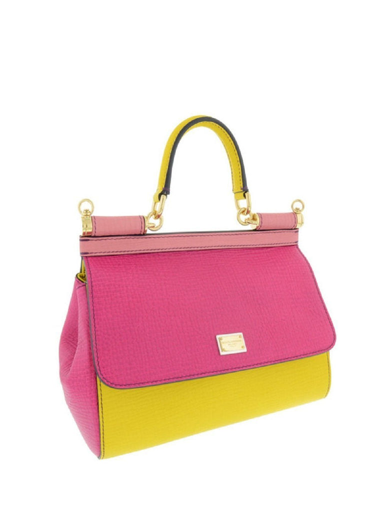 Dolce & Gabbana Micro Bag Leather Mix Colorblocking BB6003-B3193 at_Queen_Bee_of_Beverly_Hills