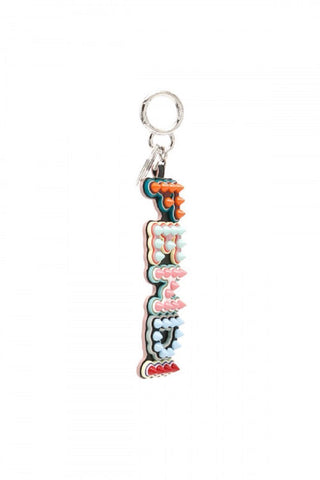 Fendi Fun Fair Multicolored Logo 8GB USB Key Charm Keychain 7AR634 at_Queen_Bee_of_Beverly_Hills