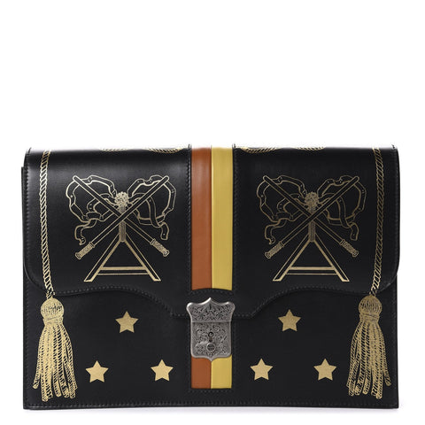 Gucci Calfskin Star Portfolio Lock Bag 510422 at_Queen_Bee_of_Beverly_Hills