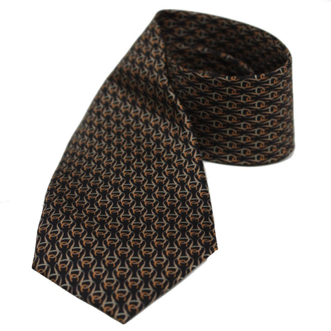 Gucci Huffero Black Twill Silk Tie for Men Necktie  100% Silk Luxury Tie 349415 at_Queen_Bee_of_Beverly_Hills
