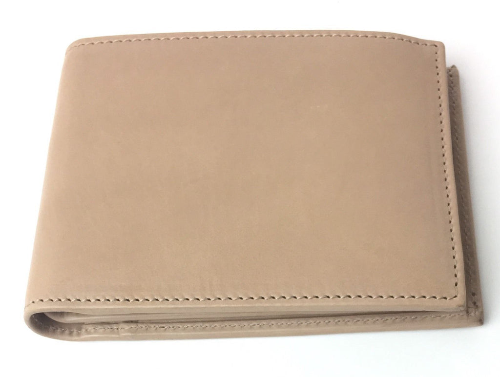 Gucci Men's Beige Washed Soft Leather Trifold Medium Wallet 333042 at_Queen_Bee_of_Beverly_Hills