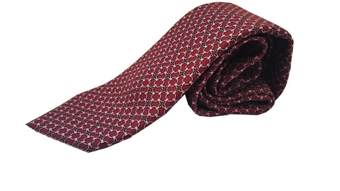 Gucci Men's Classic Burgundy Red Twill Necktie Luxury Tie 408867 at_Queen_Bee_of_Beverly_Hills