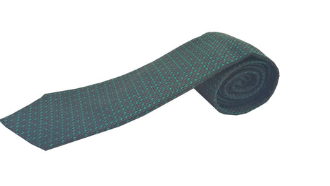 Gucci Men's Classic Dark Green and Black Necktie Woven Silk Luxury Tie 325877 at_Queen_Bee_of_Beverly_Hills