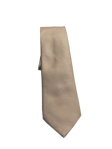 Gucci Men's Classic Tan Beige Necktie Woven Silk Luxury Tie at_Queen_Bee_of_Beverly_Hills